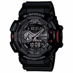 Round Analog And Digital Casio-G566 G-Shock Wrist Watch