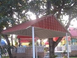 Entrance Roofing Sheds