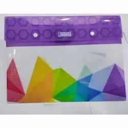 Double Button File Folder