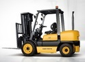 Easy Move Red Fork Lift