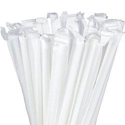 6, 7mm Pla Prepack Compostable Straw