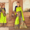 Light Green Silk Saree
