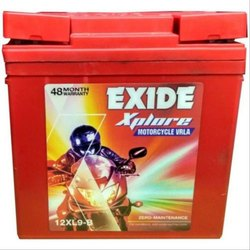Exide Xplore Motorcycle VRLA Battery, Type: Dry Charged