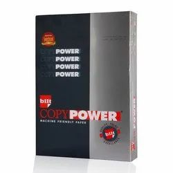 White BILT Matrix Copy Power A4 75 GSM Paper, Packing Size: 500 Sheets per pack, 75.0 g/m2