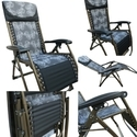 Folding Gravity Recliner Chair-09CB-Grey