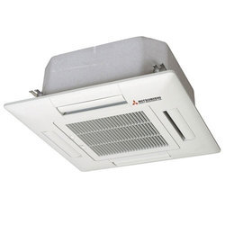 4 Star Ceiling Mounted Mitsubishi Cassette Air Conditioner, 1kW