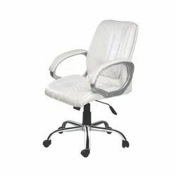 Medium Back Silver Executive Chair