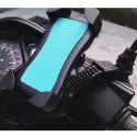 Motorbike Activa Mobile Holder with Rearview Mirror Mount Stand