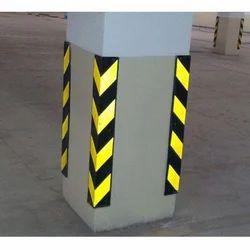 Rubber Pillar Corner Guard
