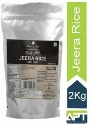 Jeera Rice packed food 2 kg, Packaging Type: Pouch