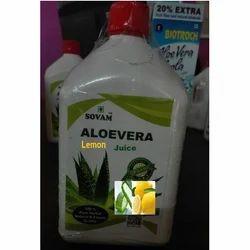 Organic Aloe Vera Lemon Juice