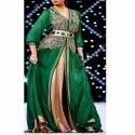 Ladies Green Maroccan Kaftan