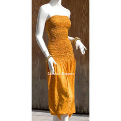 Ladies Vintage Silk Beach Wear Jumpsuit