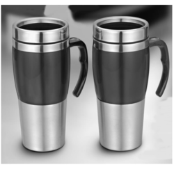 Dual Sipper Mug With Handle