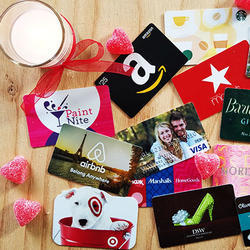 Digital printing Multicolor Gift Cards, Size: 86*54 Mm