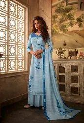 Glossy Rahma Pashmina Printed Winter Dress Collection 2019