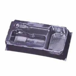 PVC Rectangular Mobile Car Charger Tray