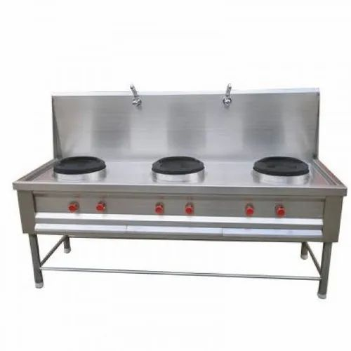 SS Silver Chinese Cooking Range, Rs