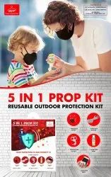 Reusable Outdoor Protection Kit 5 In 1