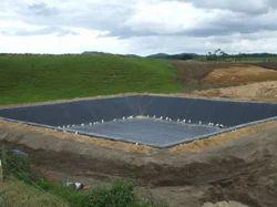 Black HDPE Pond Liner