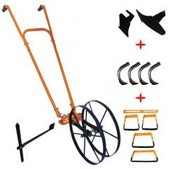 Manual Wheel Hoe With Oscillating Hoe