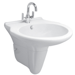 Plain Ceramic Wash Basin