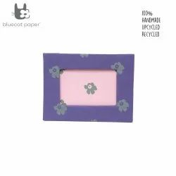Photo frame - purple and pink