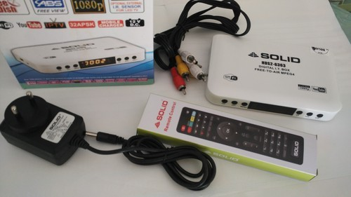 Solid 6363 Mpeg 4 Full HD Free To Air Set Top Box Free Shipping
