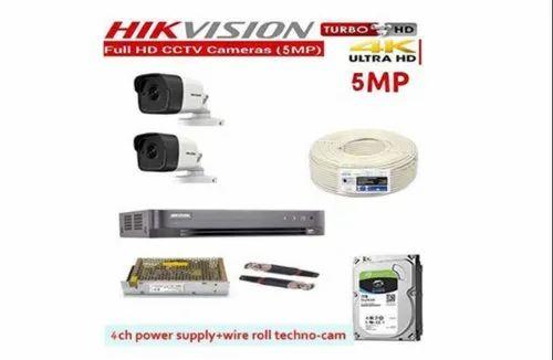 Hikvision Full HD 5 MP Cameras