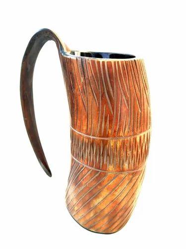 Brown Horn Mugs Paramount Handicrafts Id 16037911855