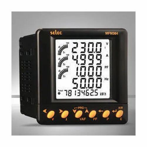 Selec Digital Multifunction Meter for Industrial, Model: MFM-384