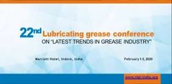 22 LUBRICATING GREASE CONFERENCE