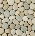 White Beige Pebbles