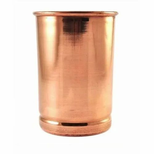 Bronze Copper Glass, Capacity: 250- 300 Ml, for For Drinking Water