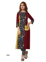 Maroon Party Wear Kurti
