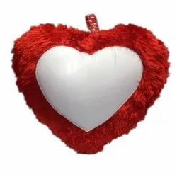 Sublimation Heart Shape Cushion