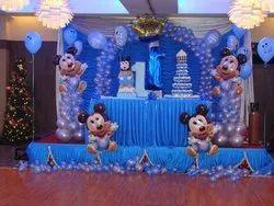 Mickey Mouse Theme Birhaday Party Decoration