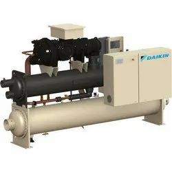 Daikin Water Cooled Chiller, Capacity: 100-1500, Water-Cooled