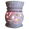 Harshit Exports Marble Leaf Flower Diffuser
