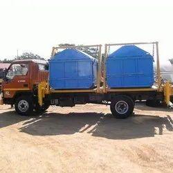 Dumper Placer Truck