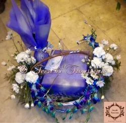 Blue And White Gift Wedding Trousseau Packing