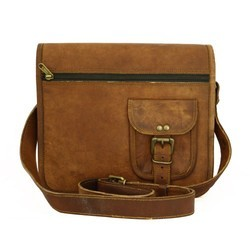 Genuine Vintage Leather Messenger- Shoulder Bag 15