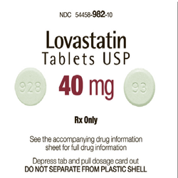 Generic Mevacor Lovastatin