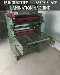 Fully Automatic Plate And Dona Lamination Machine