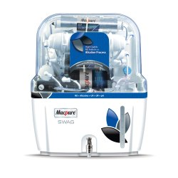 White and Blue Macpure Swag Alkaline Water Purifiers, Capacity: 15 L, Model Name/Number: Swag/ Mp004