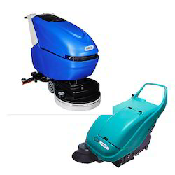 Battery Operated Floor Mopping And Sweeping Machine