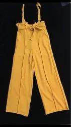 Suspender Pants For Women