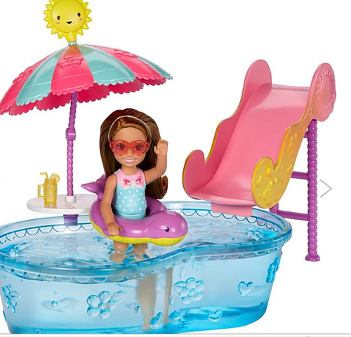 Barbie Club Chelsea Doll And Pool At Rs 1080 31 Piece ग ड य घर Magic Kids Thrissur Id 18190772655