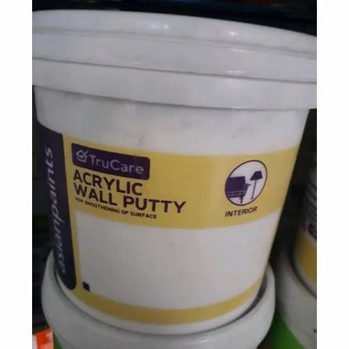 Asian Paints Acrylic Wall Putty Powder Packaging 20 L Rs 1020 Pack Id 19017382697