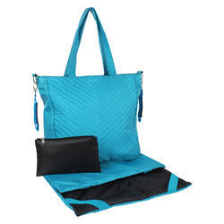 Polyester Diaper Bag With Mat And Pouch